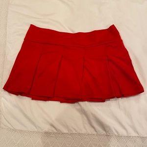 Red Starline Skirt